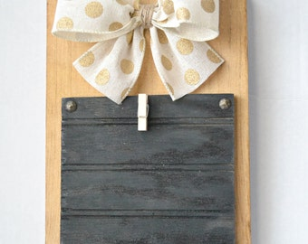 Wooden Picture Frame, Wooden Picture Holder, Rustic Home Decor, Nursery Decor, Rustic Designs