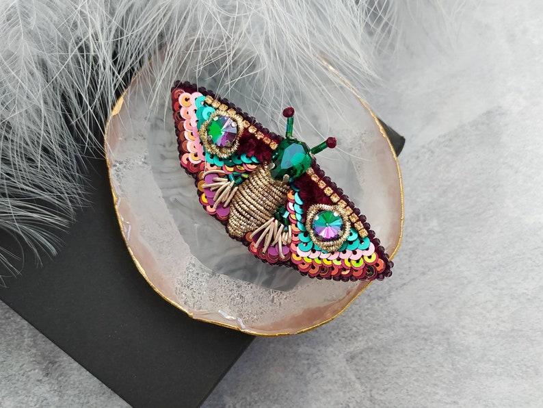 Butterfly brooch Moth brooch