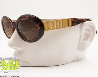 142299334 GIANNI VERSACE mod. 527/M col. 869 OD Vintage 90s sunglasses, Rare Miami  model, New Old Stock