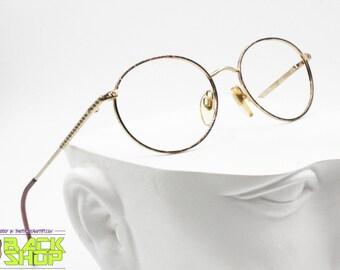 6f5b2708d1 VALENTINO Vintage 1980s frame eyewear Golden   Tortoise rims