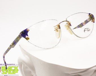 cbe0d69f9d FLAIR Jet Set 690 col. 70 Rimless Vintage eyeglass frame colorfull in  Violet
