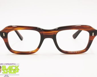 fb0f4daf69 Authentic 1960s OPTO frame brown acetate