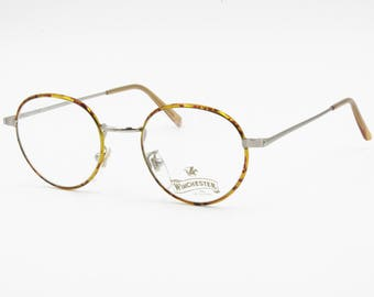 e4c375025e45 Vintage Winchester by Magic line round tortoise panto eyeglass frame
