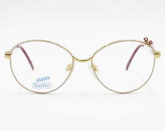 249061b243f Amazing teenager eyeglasses frame with floccule and rhinestones