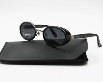 Ralph by RALPH LAUREN 924/S new old stock sunglasses oval shape with little Side Shields, Hype sunglasses, New Old Stock 90s