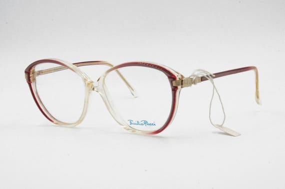 Emilio Pucci EP 332 acetate eyeglasses frame // s… - image 2