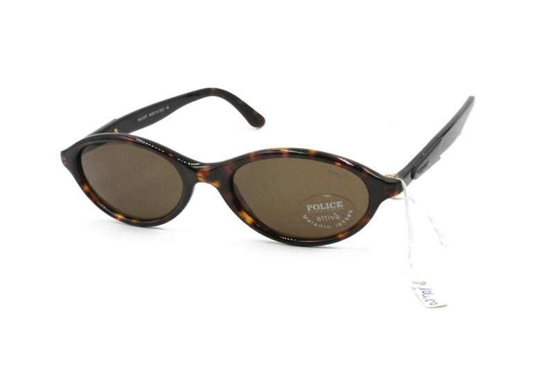 2cd83c0f6e Ovale lunettes de soleil POLICE Darken tachetée acétate et | Etsy