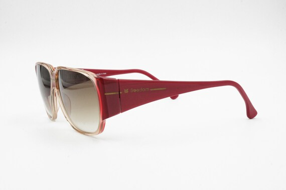 FREEDOM made in Italy, Vintage sunglasses square … - image 7