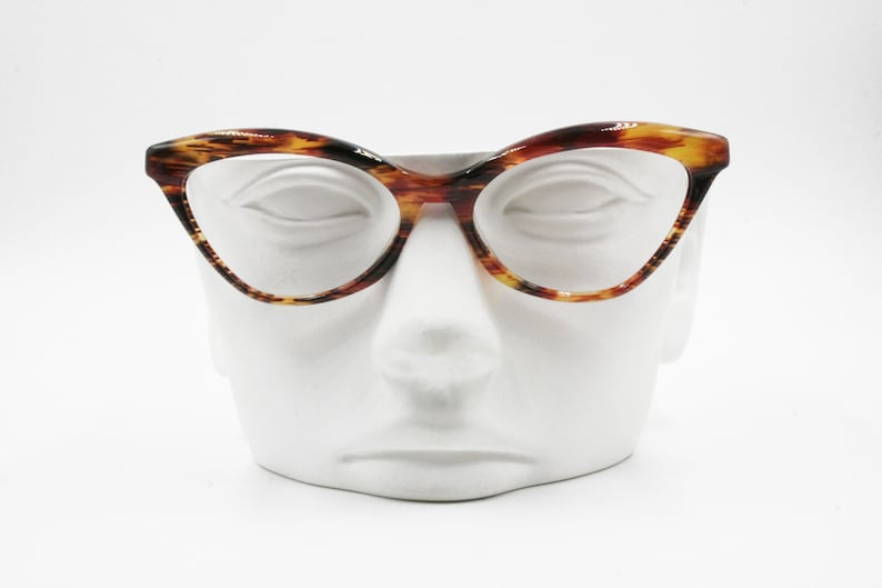 064833fced Missoni M 224 Vintage 80s cat eye eyeglasses thick accentuated