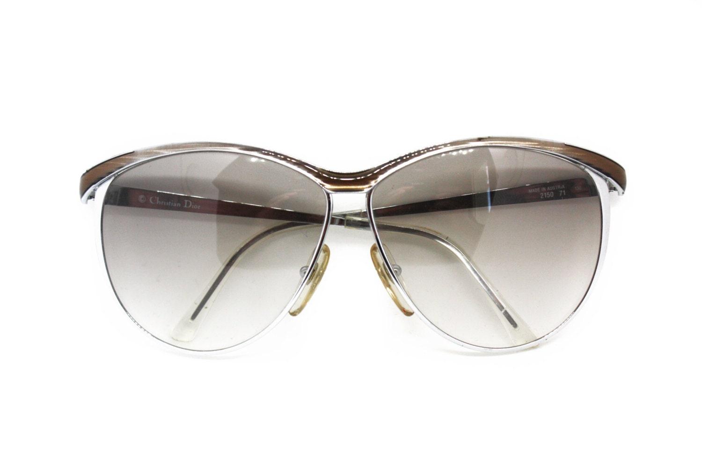 52f2f42998de Christian Dior sunglasses mod. 2150 oversize oval gunmetal