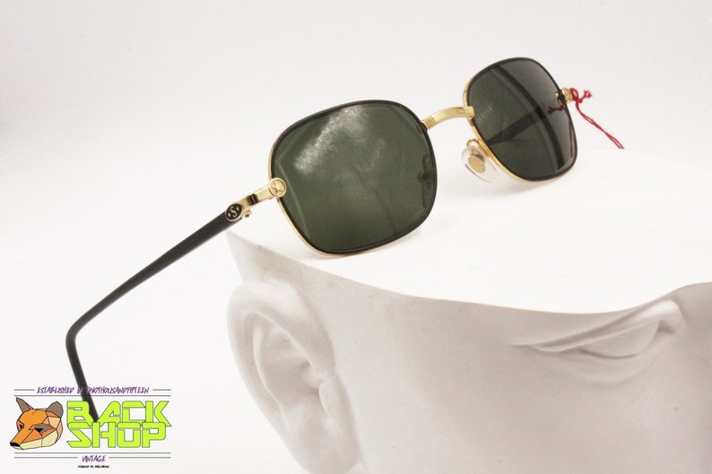 f6b9e040dc591 STARRING made in Italy Vintage rectangular sunglasses men