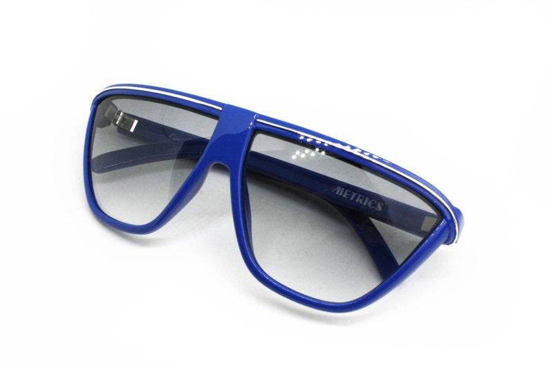 d478e65d8f Gianni Versace METRICS sunglasses wrapping mask ocean blue | Etsy