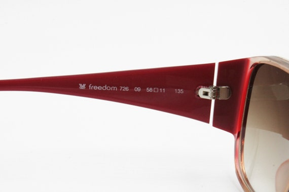 FREEDOM made in Italy, Vintage sunglasses square … - image 10