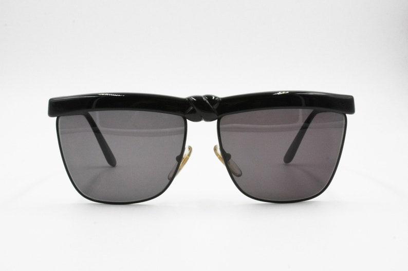 cd59480116102 Laura Biagiotti P35 48R Rare Vintage sunglasses total black X