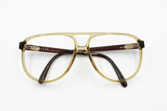 735af1f33a1 Christian Dior Monsieur 2269 aviator acetate frame pale