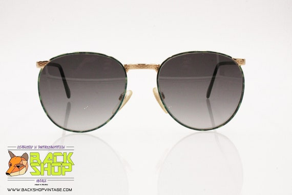PACO RABANNE Paris Round oversize Sunglasses, gold