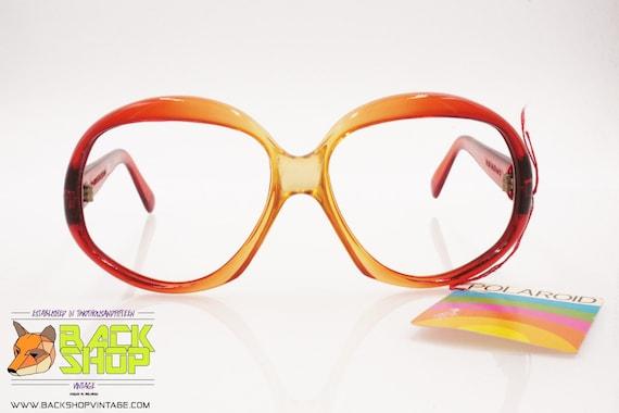 POLAROID mod. 8637 Vintage Sunglasses frame, oran… - image 4