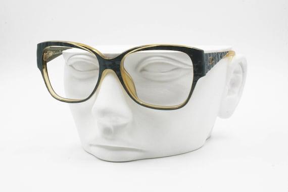 9fc2dc9b06 Christian Dior 2335 vintage wayfarer eyeglass frame bicolor