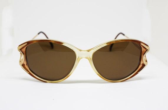 Valentino Garavani sunglasses trasparent tortoise