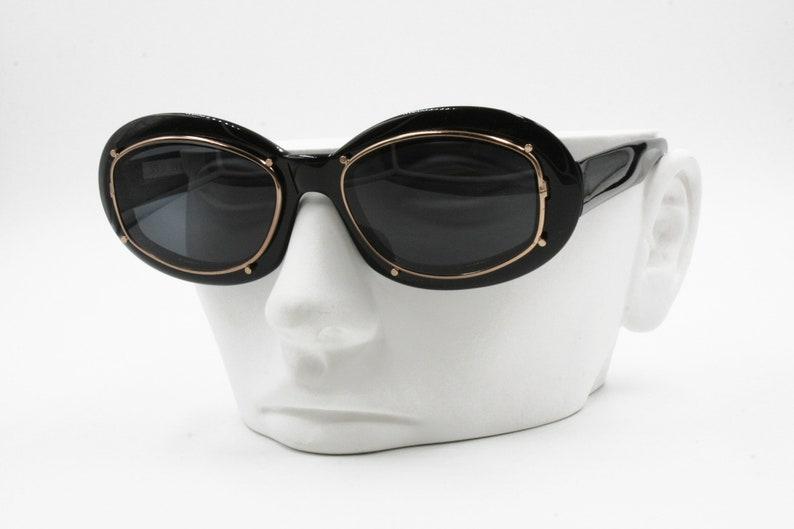 e31ad6a795b70 Robert La Roche High Steampunk design sunglasses Black