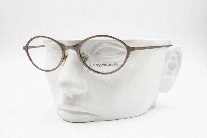 cba13bf2befe Simil Bronze reflective Emporio Armani eyeglasses frame 102