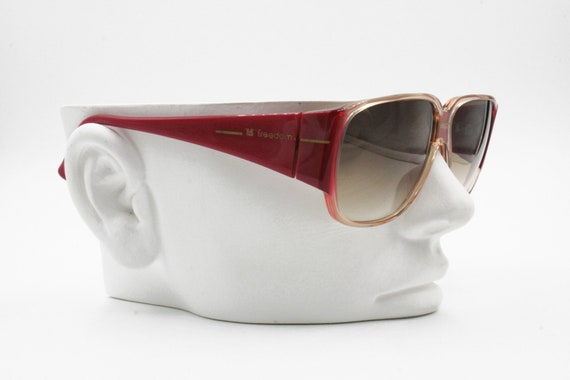 FREEDOM made in Italy, Vintage sunglasses square … - image 5
