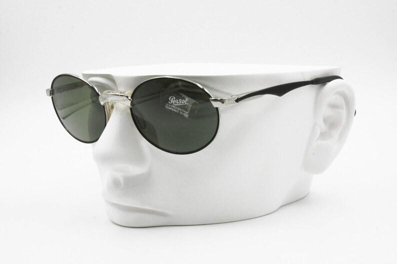 ShapeBlackamp; Vintage Sport Old Oval Silver 2003 S With Stock Persol LensesNew Sunglasses Green Yf6Ivb7yg