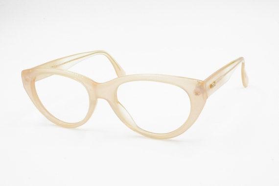 392b1dac6c Vintage Skin pink cat eye glasses frame LOOK Old America U.S.A.