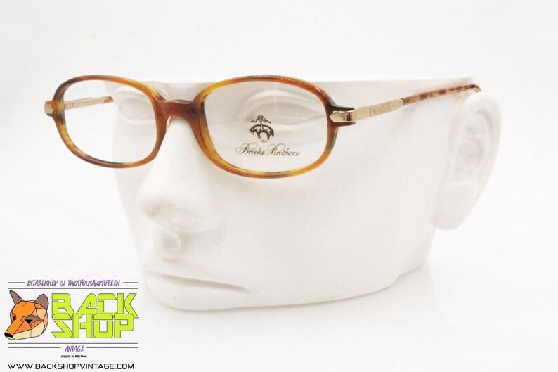 New Old Stock 1990s 521 5038 Vintage eyeglass frame classic rectangular lenses BB BROOKS BROTHER mod