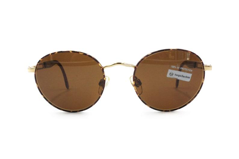 61ea7a2c5191 Vintage SERGIO TACCHINI sunglasses golden   brown dappled