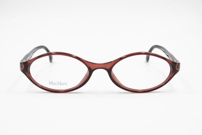 32745f5238 Max Mara women eyeglasses frame Vintage 90s Oval cat eye