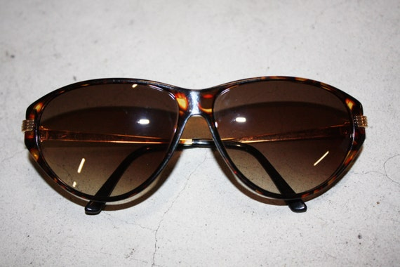 5ece1432f3b4 Christian Dior 2668 wrap golden and cello frame dark tortoise