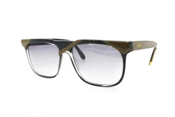 BASILE mod. Visage asymétrique du lunettes de soleil wayfarer   Etsy 42d4740be8bc