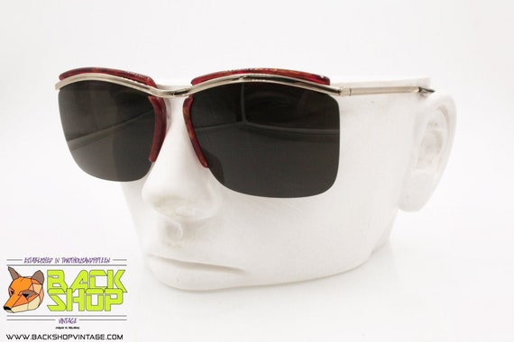 OAR mod. VANCOUVER M4/5 Vintage Sunglasses, half … - image 1