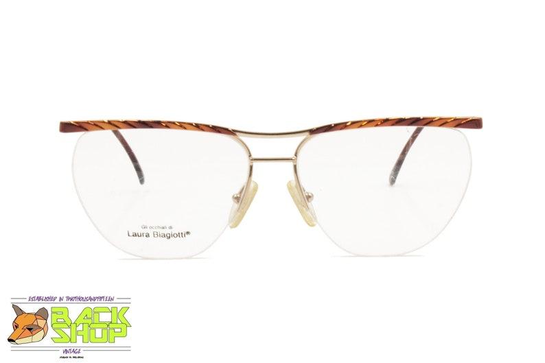 0983df6cbe LAURA BIAGIOTTI V163 Vintage glasses frame nylor lenses Women