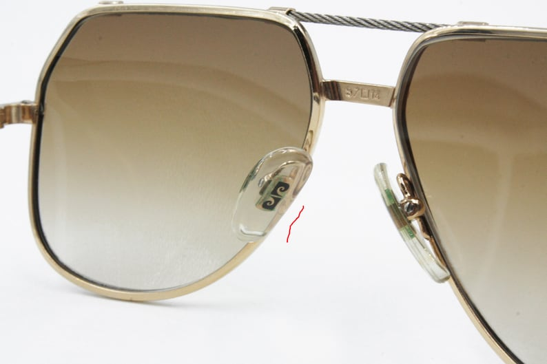 febe46130f42c Pierre Cardin PLUS CP 805 1 Rare Aviator sunglasses rope