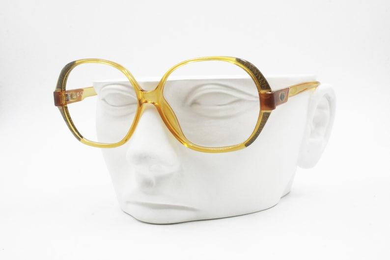 c4703e5a4b06 Christian Dior 2214 Vintage eyewear eyeglass frame yellow