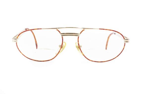 318519a495 Warm tortoise Aviator eyewear double bridge FIELMANN oval