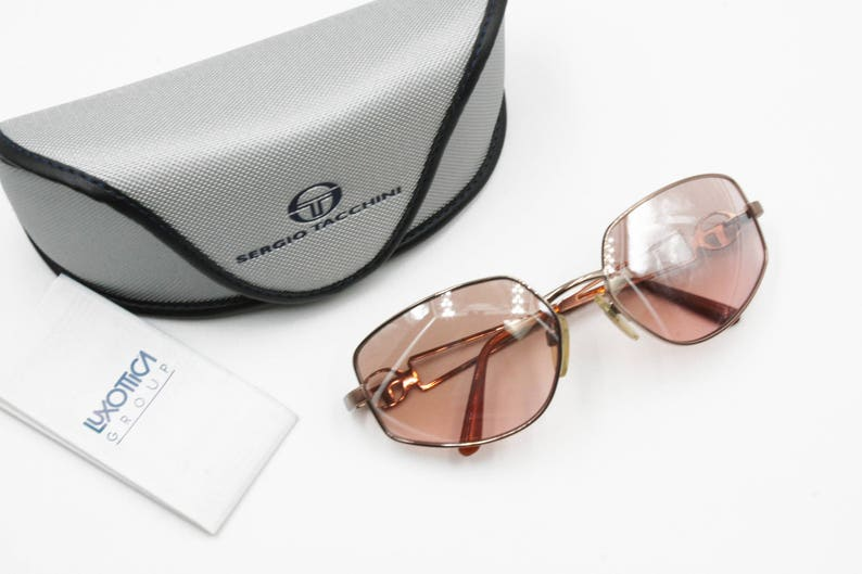 a6262a6cdcc6 Sergio Tacchini S.T. 1108-S Vintage women sunglasses pink rose