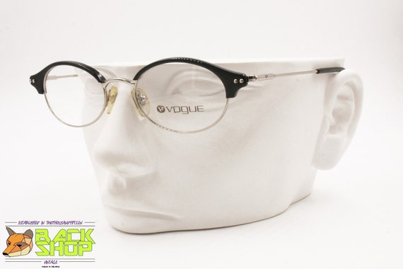 c49be685b50 VOGUE women vintage glasses frame VO2154 Slim silver cat eye