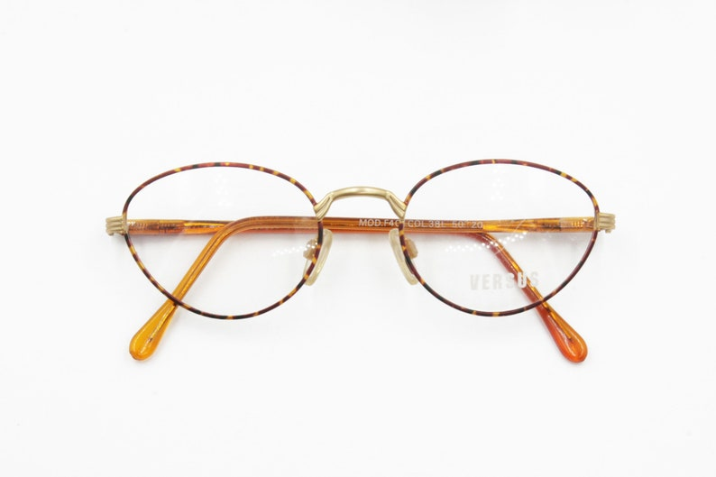 a3067fd1db85 Versus by Gianni Versace mod. F40 38L round oval eyeglasses