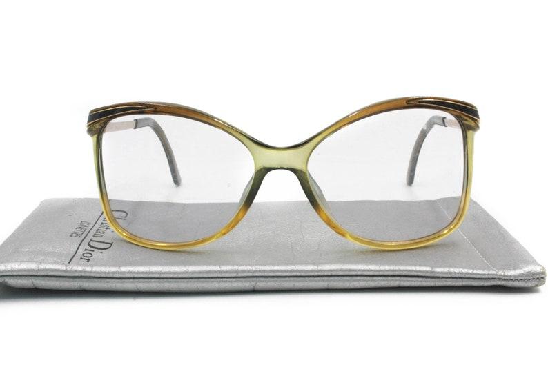 594d9d00990b Vintage eyewear Christian Dior mod. 2187 squared tricolor