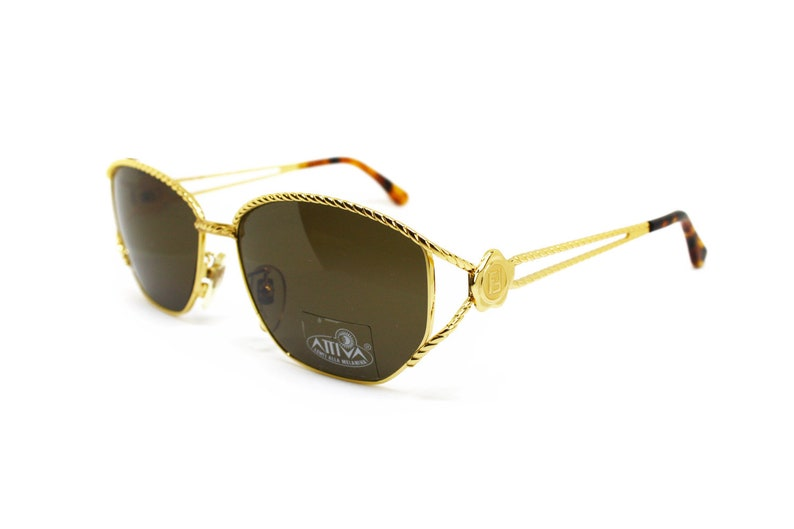 cf756e245c7 Sunglasses FENDI mod. SL 7023 oversize sunnies shiny golden