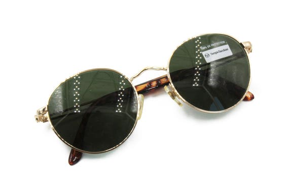 5d0eef5a3ff4 Vintage SERGIO TACCHINI sunglasses pale golden Vintage