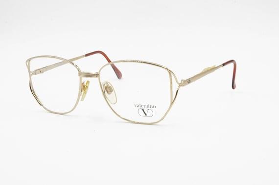 Valentino Garavani mod. V385 square eyeglasses fra