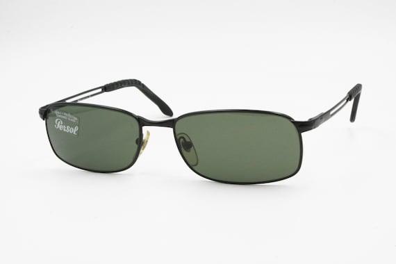 Persol 2118-S 594 31 Vintage squared occhiali da sole telaio   Etsy b5c1069c4a17