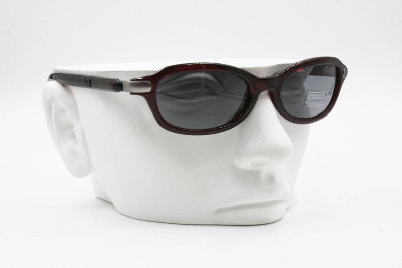 New Old Stock 90s United colors of Benetton UCB 271 vintage sunglasses red semitransparent acetate