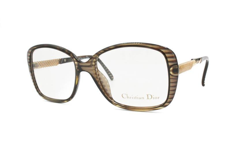 45e54eaf0d39 Christian Dior mod. 2415 medium oversize square eyeglasses