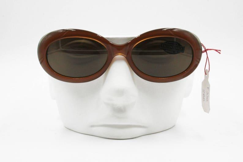4dda2744ba Façonnable F336 288 Vintage oval sunglasses caramel orange