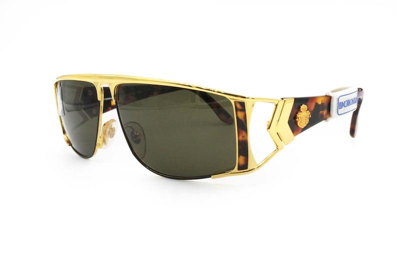 8ec901863bf Von Furstenberg flat top lunettes de soleil masque forme stock